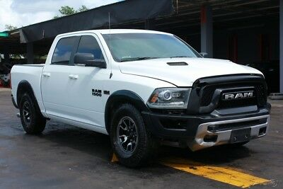 2016 Ram 1500 Rebel 4x4 4dr Crew Cab 5.5 ft. SB Pickup 2016 Ram 1500 Rebel 4x4 RUNS&DRIVES rebuilder repairable damage wreck damage fi