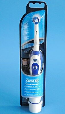 Oral-B Advance Power 400 Db4010 Battery-Operated Electric Toothbrush White