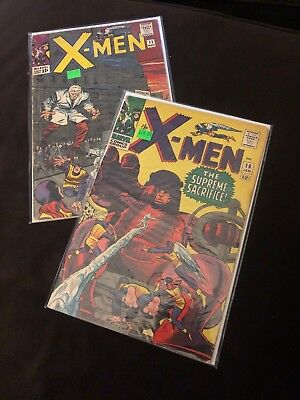 X-Men Comic Lot 11 16
