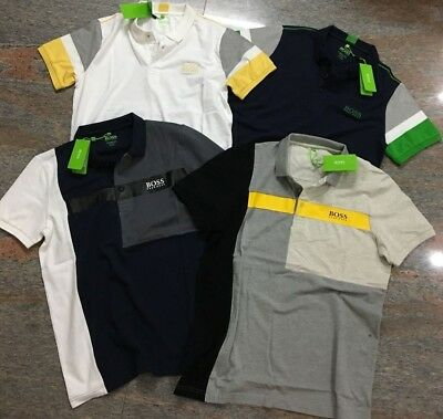 Hugo Boss Polo For Men (Green Tag) Regular Fit 4 Color T Shirts