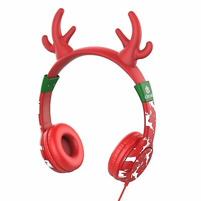 USA Stock iClever Wired Kids Headphones Cat-inspired Over the Ear Headsets with