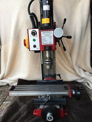 Central Machinery Vertical Milling/drilling Machine 2 Speed Used Working!!