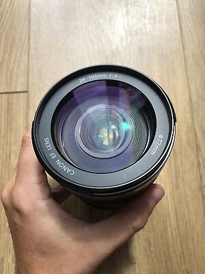 canon 24-105 f4 l is lens