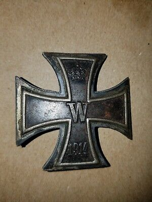 WW1 German Pin 1914 Iron Cross Badge Medal #1