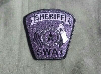 Bee County Texas Sheriff Swat Officer Shoulder Patch
