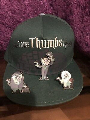 Disney Parks Haunted Mansion Hat Hitchhiking Ghosts Three Thumbs Up NWT