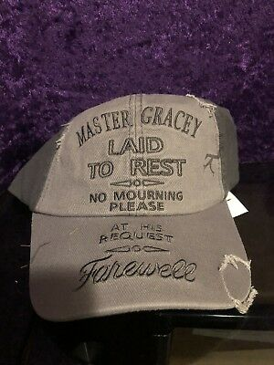 Disney Parks Haunted Mansion Hat Master Gracey Tombstone NWT