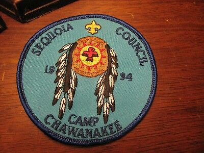 1994 Sequoia Council Camp Chawanakee BSA Patch