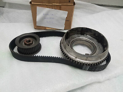 Open Enclosed Belt Primary Harley Knucklehead Panhead Primo Clutch hub pulleys