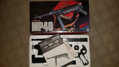 WW2 German Wehrmacht / Luftwaffe PFC TOY/PROP Replica Model  MP40 with box
