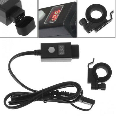 12V Motorcycle Tour Bike ATV SAE - USB Charger Cable GPS Power Adapter+Voltmeter
