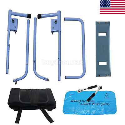 Body Stretching Device Cervical Spine Lumbar Traction Bed Therapy Massage USA#