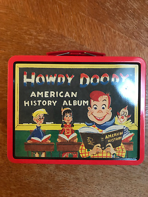 1998 reissue of Howdy Doody lunchbox - NO RESERVE!