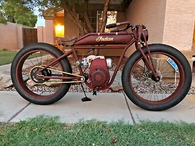 1915 Indian Single cylinder  Board Track Racer replica