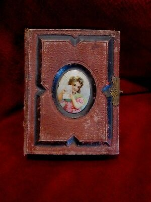 Small Leather Antique Picture Album,