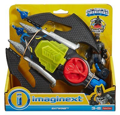 Imaginext Batwing w/ Batman Figure DC Super Friends NEW Fisher-Price Gift Idea