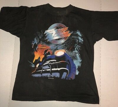 Real Vintage 1991 ZZ TOP Real Tour T-Shirt (Recycler Tour) Original Owner/Large