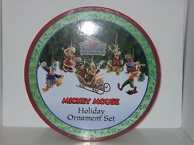 Disney Traditions Jim Shore Mickey Mouse Holiday Ornament Set