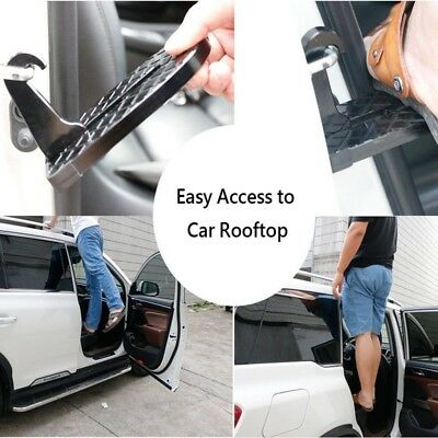 Doorstep Vehicle Access Hook Roof Car Saftey Pedal Latch Step Easily Rooftop