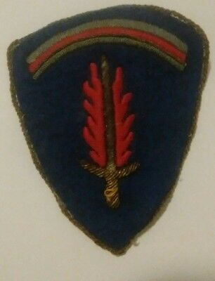 Original Ww 2 U.s. Army Forces In Europe Patch -- Gold Bullion German Made