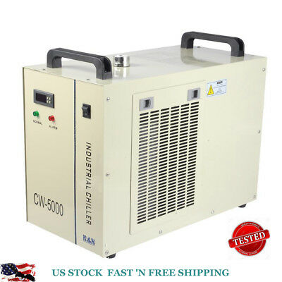 CW-5000 Industry Air Water Chiller CO2 Laser Engraving Cutting Machine 110V