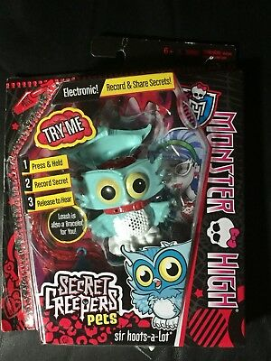 Monster High Secret Creepers  - Sir Hoots-a-lot Owl -