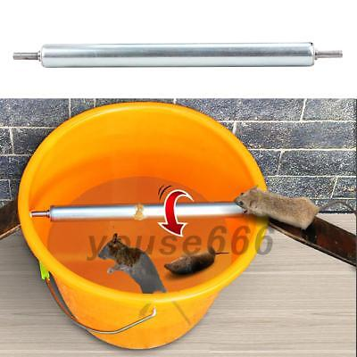 Rolling Mouse Trap Live Catch Release Bucket Spin Mice Cather Rats Rodents UK