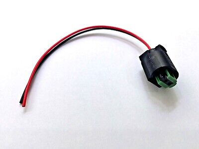 Bmw / Mini External Air Ambient Temperature Sensor Plug And Wires Only