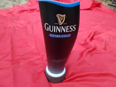 Guinness extra cold bar pump light new,  man cave  or pub club house