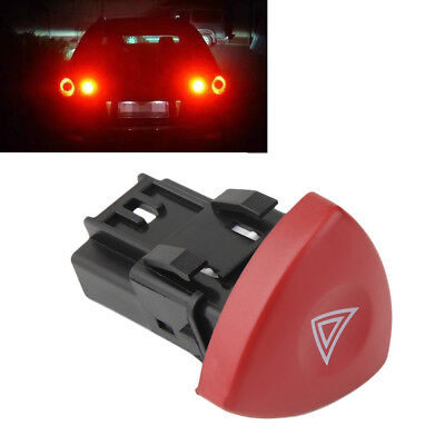 New Hazard Emergency Flasher Warning Light Switch Push Button For Renault -SK37
