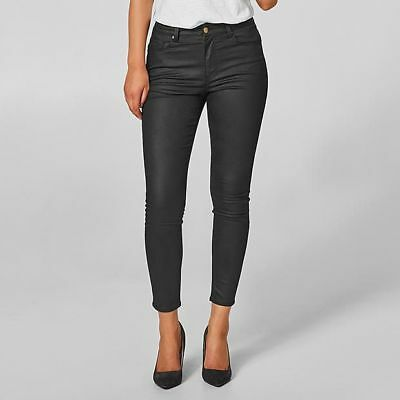 NEW Sophie Coated Skinny Ankle Jeans