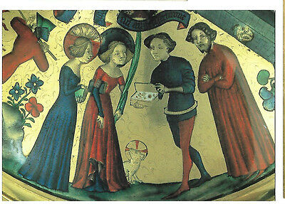"""""""PROCOPIUS OFFERS ST AGNES A BOX OF JEWELS"""" -scene from the Gold Cup POSTCARD"""