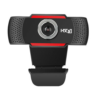HD 720P Webcam Camera Wide Angle With Mic USB 2.0 For Laptop PC Mac Windows 10