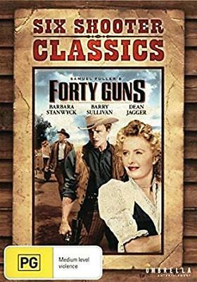 Forty Guns - Six Shooter Classics (DVD, 2013) Region All