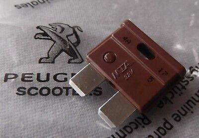 Genuine Peugeot Scooter Electrical Blade Fuse 7.5A Amp PE755761