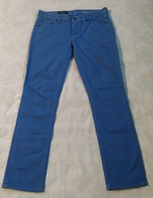 J.Crew Matchstick Blue Dyed Denim Jean Pant Size 28