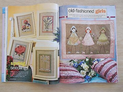 Handmade Vol 22 #12~Quilts~Doll~Bag~Bear~Knit~Embroidery~Folk Art~Cross Stitch..