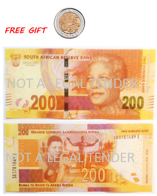 New South Africa  Madiba R200 (2018) (genuine notes pic's copy)