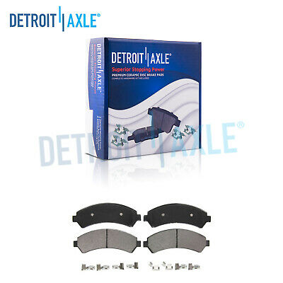 Front Ceramic Brake Pads for 4WD Chevy S10 Jimmy S-15 Sonoma Hombre Bravada