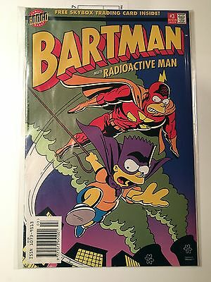 BONGO Group Comics BARTMAN MEETS RADIOACTIVE MAN #3 COMIC No 3 VFN