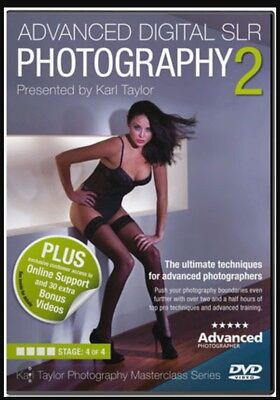 Advanced Digital SLR Photography 2 Karl Taylor 'Masterclass' Series dvd