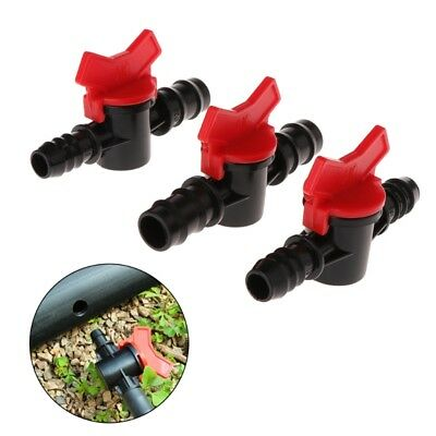 12mm/16mm Fish Tank Double Tap ABS Water With Valve Adjustable Aquarium Supplies