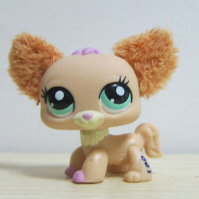Littlest Pet Shop LPS Toys #2514 Fuzzy Ears Chihuahua Puppy Dog Figure