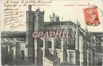 CPA Narbonne Cathedrale Saint Just