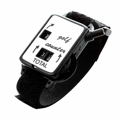 3X(Golf Club Stroke Score Keeper Count Putt Shot Counter Watch w/ Wristband A5E3