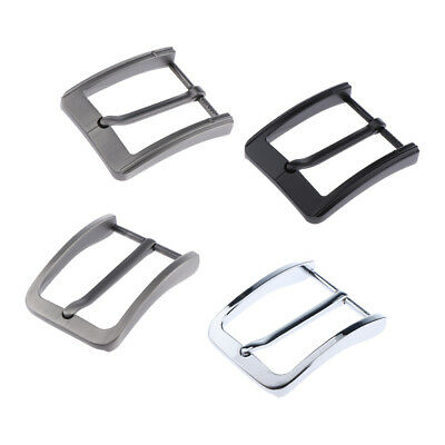 Baoblaze Metal Alloy Belt Buckle Replacement Antique Pin Buckle Rectangular