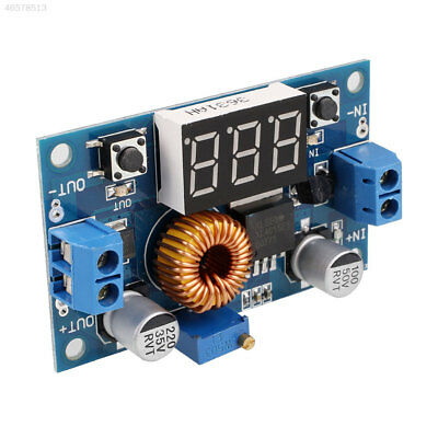 589C DC-DC Adjustable Step-Down Power Supply Module 5A 75W Display Voltmeter