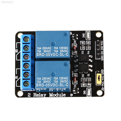 CFFB 5V 2 Aisle Relay Module Board For Arduino Low Level Trigger ARM Computer