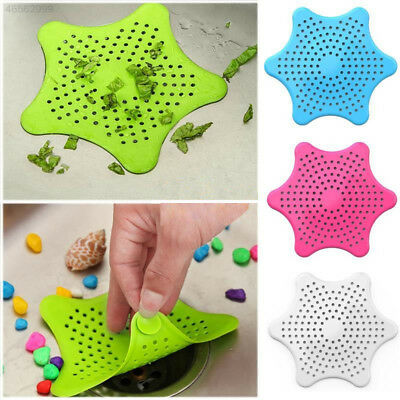 DAEE Silicone Sink Seastar Type Filter Kitchen Sewer Pad Stopper Colanders