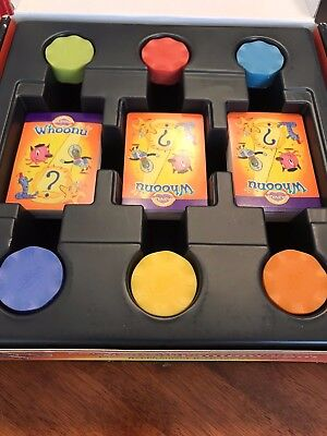 Select your Cranium Whoonu board game REPLACEMENT Parts Pieces Chips Cards